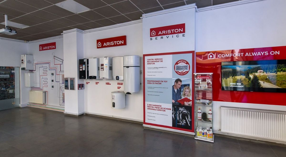 Showroom Ariston Cluj Napoca